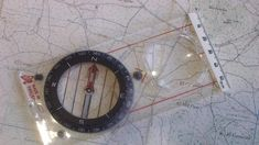 Map and Compass Navigation Is An Essential Trail-Running Skill Compass Navigation, Female Runner, Washer Necklace, Trail, Apps, Magazine, Running, Phone, Safety