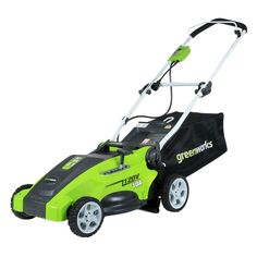 16 in. 10-Amp 2-in-1 Electric Walk-Behind Lawn Mower