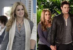 Nikki Reed transforms from a cold-as-ice blonde to a warm-and-comforting bronde in the course of the Twilight saga. If only a change in hair color meant a positive change in personality in the real world . Rosalie Twilight, Rosalie Cullen, Rosalie Hale, Twilight Cast, Twilight New Moon, Twilight Series, Twilight Movie, Ian And Nikki, Nikki Reed