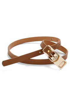 I've been wanting/needing a brown skinny high waist belt