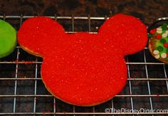 The Disney Diner: Mickey Mouse Christmas Sugar Cookies Recipe