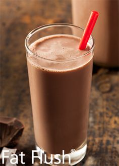 Choco-Rhuberry Smoothie: Official Fat Flush Recipe