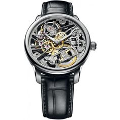 Maurice Lacroix Masterpiece Squelette Skeleton Dial Men's Watch MP7208-SS001-000