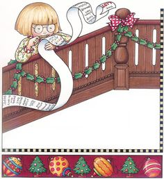 Mary Christmas, Mary Engelbreit, Christmas Drawing, Christmas Printables, Paper Dolls, Childrens Books, Dream Catcher, Merry, Drawings