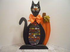 CAT Stanley Black Halloween FFFOFG Fraidy by PaintspotsnSplinters
