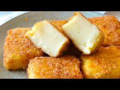 Leche frita. Receta fácil paso a paso - YouTube Empanadas, Fritas Recipe, Desserts Espagnols, Dessert Parfait, Healthy And Unhealthy Food, Tasty, Yummy Food, No Cook Meals, Cornbread