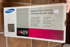 Samsung M409 Magenta Toner Cartridge New | Mercari Ink Toner, Toner Cartridge, Magenta, Samsung
