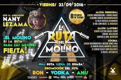 """El Molino presenta: """"La Ruta Del Molino"""" http://crestametalica.com/events/el-molino-presenta-la-ruta-del-molino/ vía @crestametalica"""