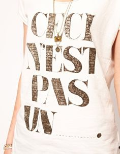 T-shirt Maison Scotch 2012