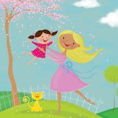 Louise Gardner - professional children's illustrator, view portfolio