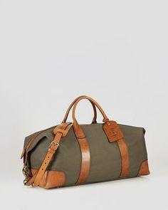 Polo Ralph Lauren Canvas   Leather Duffel Bag Polo Ralph Lauren c9972269db5ee