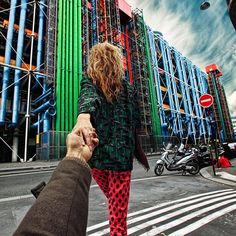 #followmeto the Centre Georges Pompidou with @yourleo