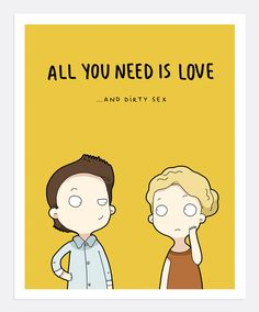 Love Is All You Need Print A4 | Lingvistov