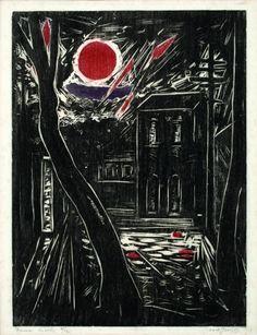 Oswaldo Goeldi | Dança do sol