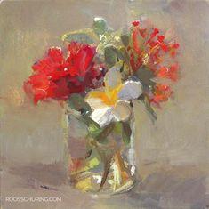 """15. Floral Still Life - 6x6"""""""