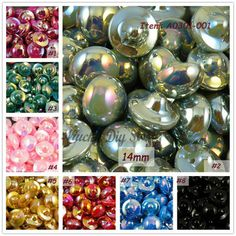 And Children Popular Brand 20pcs Mix Color Love Heart Pearl Charms Hair Button Drill Material Accessories Diy Handwork Hat Decorative Buckle Embellishment Suitable For Men Women