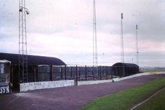 A somewhat woebegone Aggborough in 1978.  Scarcely believable that it would later become a Football League ground. Kidderminster Harriers.