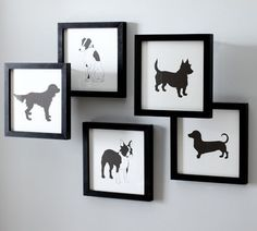 Doggy artwork. The one on the bottom is favorite :)