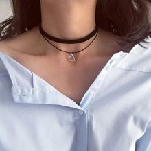 Seoul Young - Double Strand Triangle Choker