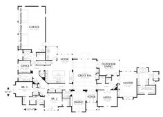 Floor Plan For The House Used In The Movie Somethings Got