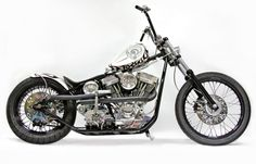 White Devil - Indian Larry Motorcycles
