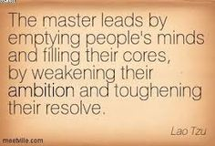 Image result for lao-tzu quotes the master leads