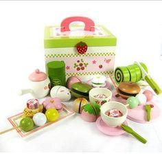 Mother Garden Japan afternoon tea wooden toy