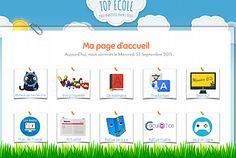 LA page d'accueil du navigateur internet pour vos écoles