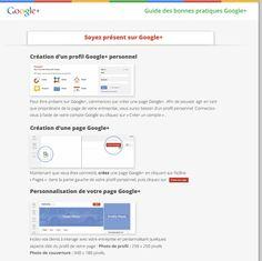Pages Google+ : 3 guides de bonnes pratiques