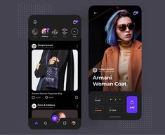 Fashion eCommerce App designed by Angel Villanueva for Orizon: UI/UX Design Agency. Connect with them on Dribbble; the global community for designers and creative professionals. Web Design Agency, Ui Ux Design, Graphic Design, Design Case, Conception D'applications, Ecommerce App, App Ui, Ecommerce Store, Layout