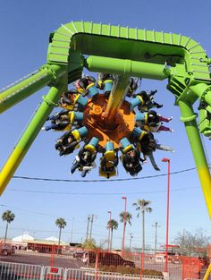 Go crazy on the Dizzy Toucan! Come to ZDT's Amusement Park, where the fun never ends! 1218 N. Camp Street. 830-386-0151.