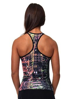 Equilibrium Activewear LT1034 City Lights Yoga by BestFitByBrazil