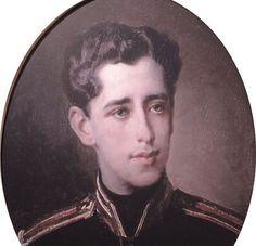 Портрет. Григорий Александрович Пушкин( родился в 1835).Автор-?
