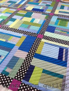 crazy mom quilts: spiral quilting
