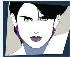 Nothing screams 80's quite like a Nagel print.
