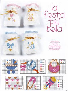This Pin was discovered by şen Cross Stitch For Kids, Cross Stitch Borders, Cross Stitch Baby, Cross Stitch Charts, Cross Stitch Designs, Cross Stitching, Cross Stitch Embroidery, Cross Stitch Patterns, Hand Embroidery Patterns