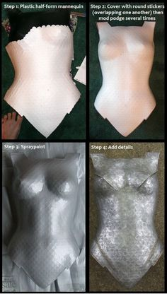 Quik & easy DIY Cosplay Armor.  Click the picture for more details. by tania  Halloween costume idea? Wonder Woman anyone?