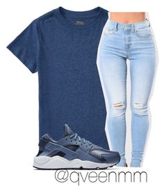 """Untitled #447"" by qveenmm on Polyvore featuring NIKE"