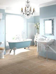 Blue Bathroom by Zena