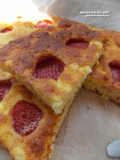 epres túrós gluténmentes sütemény recept Sin Gluten, Gluten Free, Cake Cookies, French Toast, Deserts, Paleo, Food And Drink, Healthy Recipes, Breakfast