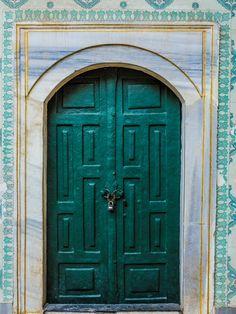 Door at Topkapi Palace-Istanbul