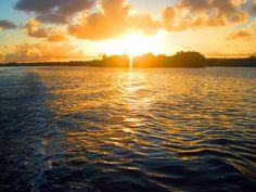 Por do sol na Lagoa do Mundaú, passeio às 9 ilhas.
