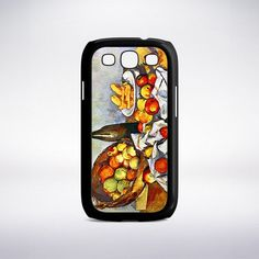 Paul Cezanne - Still Life With Bottle And Apple Basket Phone Case
