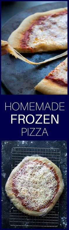 Sometimes on a busy weeknight, there's just nothing quite like throwing a frozen pizza in the oven. Did you know it's easy to make your own? Learn how to make Easy Homemade Frozen Pizzas!