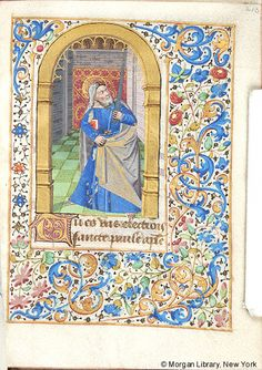 Book of Hours, M.430 fol. 213r - Images from Medieval and Renaissance Manuscripts - The Morgan Library & Museum