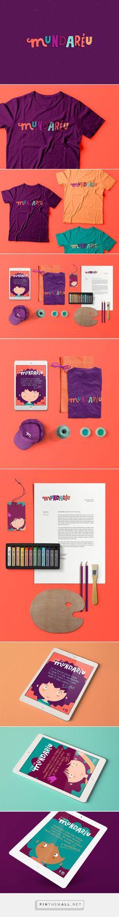 Mundaréu Identity by Carmelita Design on Behance | Fivestar Branding – Design and Branding Agency & Inspiration Gallery