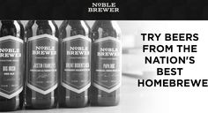 2016 Black Friday Beer Subscription Box Special: Try EIGHT free beers with your first 4 beer box! That's 3 times the beer!     Noble Brewer Black Friday Special: 8 FREE beers with first box! →  http://hellosubscription.com/2016/11/noble-brewer-black-friday-special-8-free-beers-first-box/ #BlackFriday #NobleBrewer  #subscriptionbox
