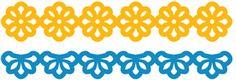 Silhouette Design Store - View Design #25708: moroccan borders