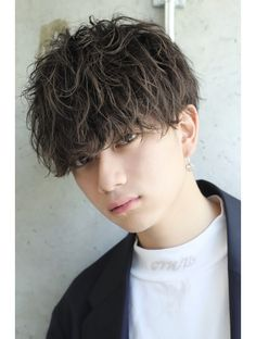 Pop Hair, Asian Hair, Boy Hairstyles, Asian Boys, Haircuts For Men, Short Hair Styles, Hair Cuts, Study, Beautiful