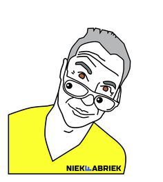 niekfabriek-illustration of grey yellow me :)